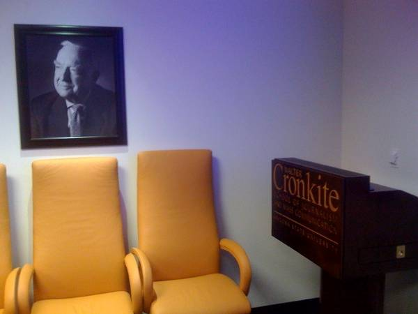 The Executive Boardroom at the Walter Cronkite School of Journalism